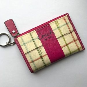 Cute Coach cardholder wallet